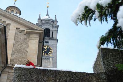 Die Kirche Zürich Enge