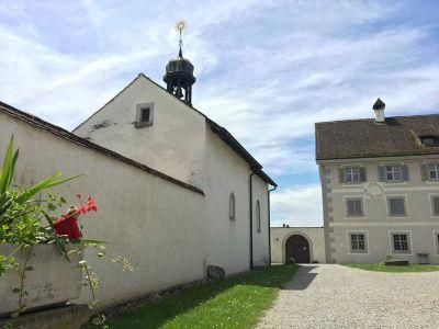St. Anna-Kapelle in Aargauer Enklave Kloster Fahr