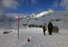 Winterwanderweg Gemmipass