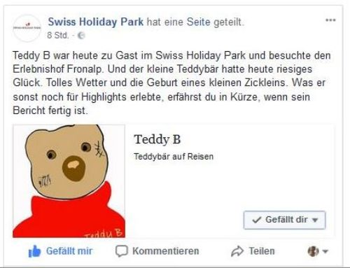 Swiss Holiday Park Morschach: Alte Bären und junge Zicklein