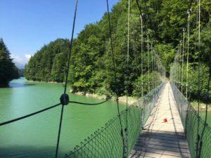 teddy-b.ch - Hängebrücke Lac de Montsalvens