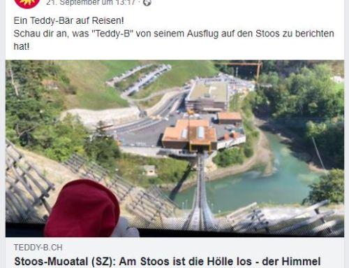 Stoosbahn (SZ): Steiler Aufstieg für Teddy B
