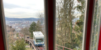 Seilbahn Rigiblick (ZH): Gipfelblick mitten in der Stadt