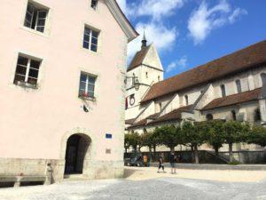 Kirche und Kloster St. Ursanne