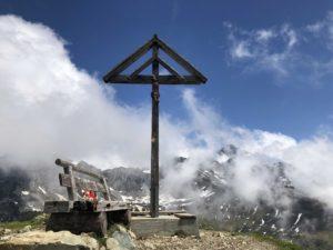 Gipfelkreuz Hüenderegg (UR)