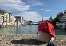 Züri Fäscht 2019: Überblick über die Limmat