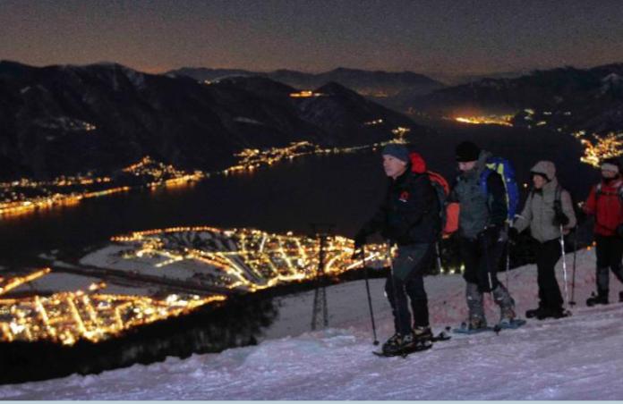 teddy-b.ch - Vollmond - Schneeschuhwandern Cardada-Cimetta